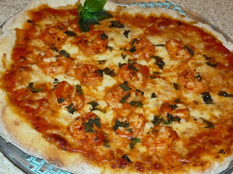 Spicy Shrimp Pizza_5