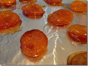 3 Candied apricots