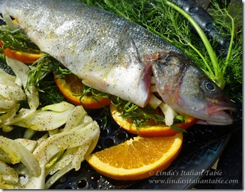 Branzino fire roasted on the grill linda 39 s italian table for What is branzino fish
