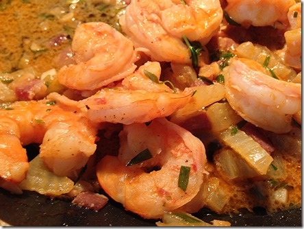 Shrimp and Polenta 4