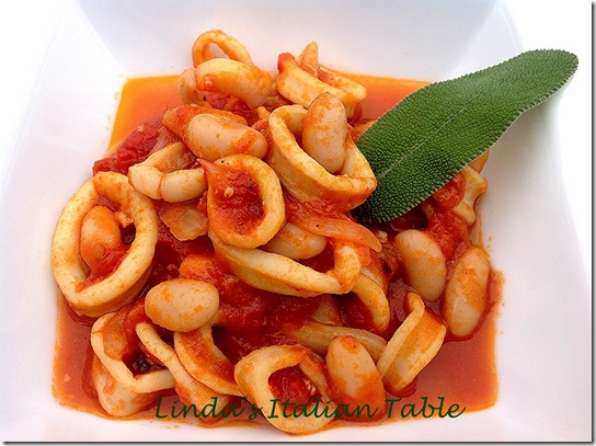Squid and Beans - finish with script