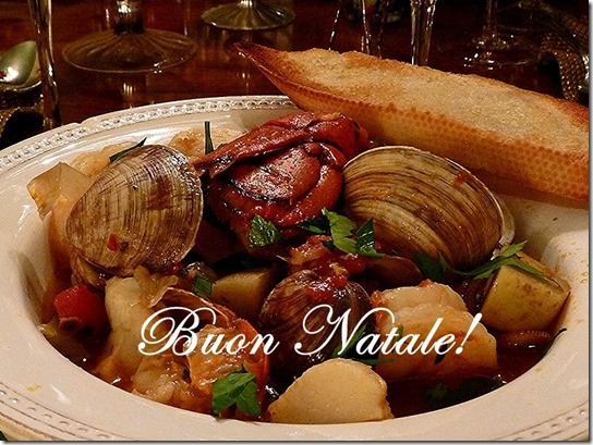 Seafood Stew Buon Natale