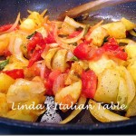 Potatoes with Tomatoes