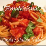 Recipe of the Month February:Amatriciana Sauce
