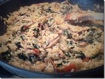 Risotto with Greens 5
