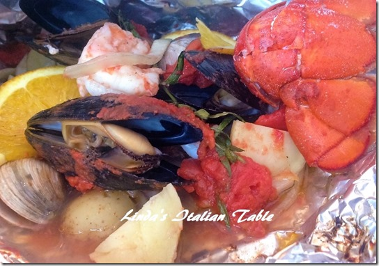 Copy Frutti di mare finish with script