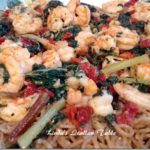 Pasta with Shrimp and Greens